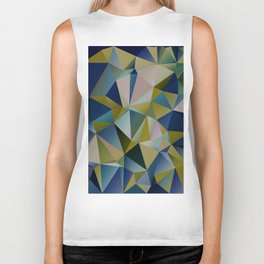 Abstract Composition 555 Biker Tank
