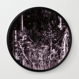 Gnome Forest Wall Clock