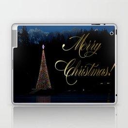 Lost Lagoon Christmas Tree Laptop & iPad Skin