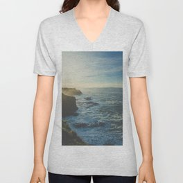 Cliffside Morning Unisex V-Neck