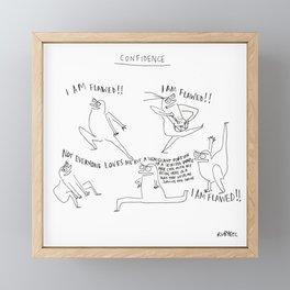 Confidence Framed Mini Art Print