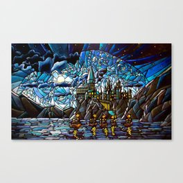 First Day of Magic... Canvas Print
