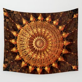 Sun Spur - Raw 3D Fractal Wall Tapestry