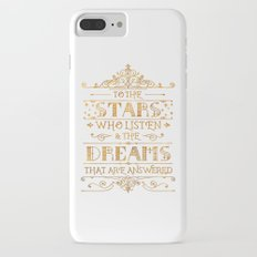 To the Stars - White Slim Case iPhone 7 Plus