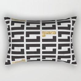 Golden Era Rectangular Pillow