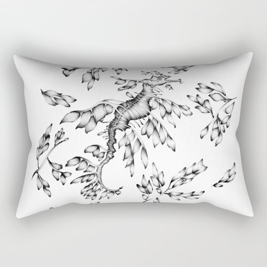 Camouflaged - the Sea Dragon Rectangular Pillow