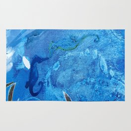 Whale and Seahorse Rug