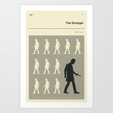 THE STRANGER Art Print