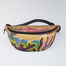 Reaching the Mountain Top Fanny Pack