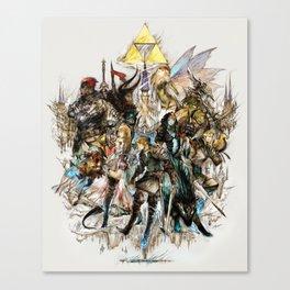 The Legend of Zelda XIII Canvas Print