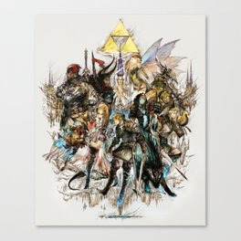 The Legend of Zelda XIII Canvas Print