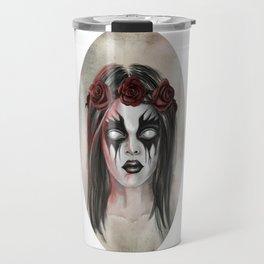 Black Metal for babies Travel Mug