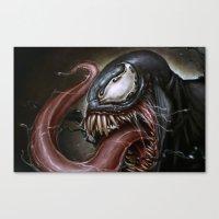 venom Canvas Prints featuring Venom by RodgerPister