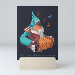 Kass' Song Mini Art Print