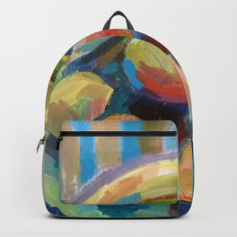 Still Life with Fruits Backpack