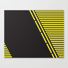 Lines: One Canvas Print