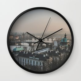 Prague, Czechia III Wall Clock