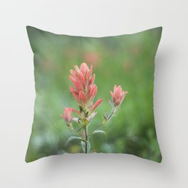 Castilleja Throw Pillow