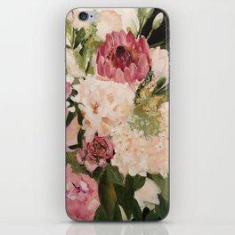 Pink Bouquet iPhone Skin