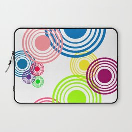 Circles of color Laptop Sleeve