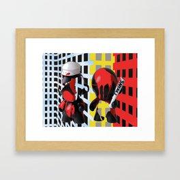 """Twins"" Framed Art Print"