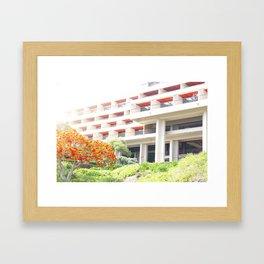 Mauna Kea Hotel Framed Art Print