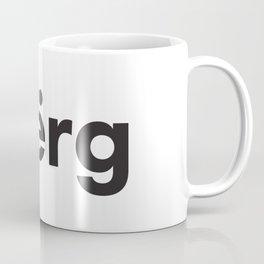 blerg Coffee Mug