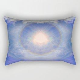 Eye of Light Rectangular Pillow