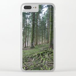 Paysage-F8 Clear iPhone Case