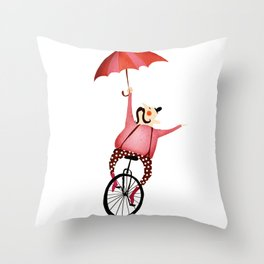 CIRCUS Throw Pillow