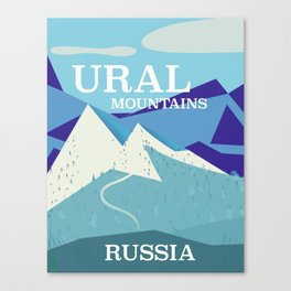 Ural Mountains Russia Canvas Print