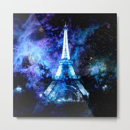 paRis galaxy dreams Metal Print