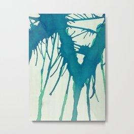 Watercolor Improvisation 3 Metal Print