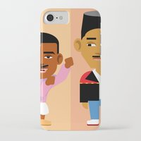 fresh prince iPhone & iPod Cases featuring The Fresh Prince by Evan Gaskin
