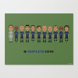 Internazionale 2010 Canvas Print