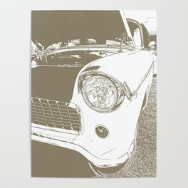 Chevy Chevrolet Bel Air Poster