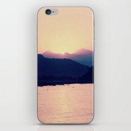 Romantic Pastel Pink Sunset #1 #art #society6 iPhone Skin