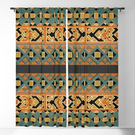 Assembled Arabian Patterns (19th Century) I Blackout Curtain