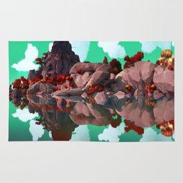 Rocks Reflection Rug