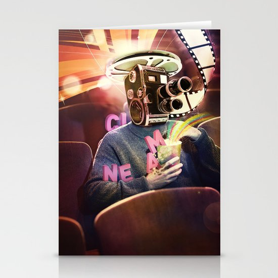 Cinema Poster Stationery Cards