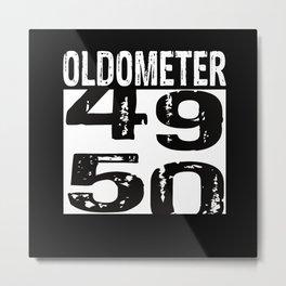 50th Birthday Metal Print