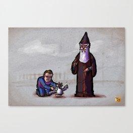 Gwydion and Manannan Canvas Print