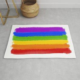 Rainbow Pride Flag Rug