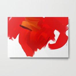 Abstract - Ganesha  Metal Print