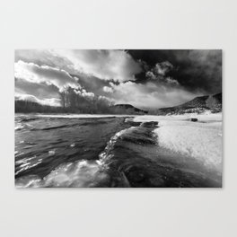 Colorado New Year's Day Canvas Print