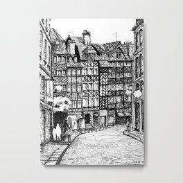 Half-Timbered Metal Print