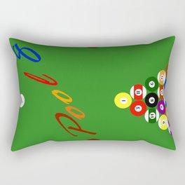 Pool 8 Rectangular Pillow