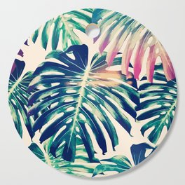 Monstera Leaves Cutting Board