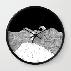 I wonder what is on the other side. Wall Clock