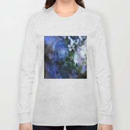 Jesus Christ In The Garden By Annie Zeno Long Sleeve T-shirt